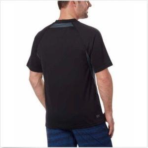 Speedo Shirts - Speedo Men's Sun Protection Tee, Black, Size S,